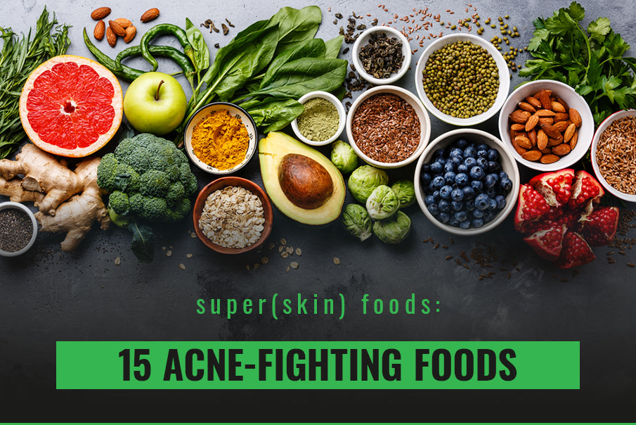 15 acne fighting foods