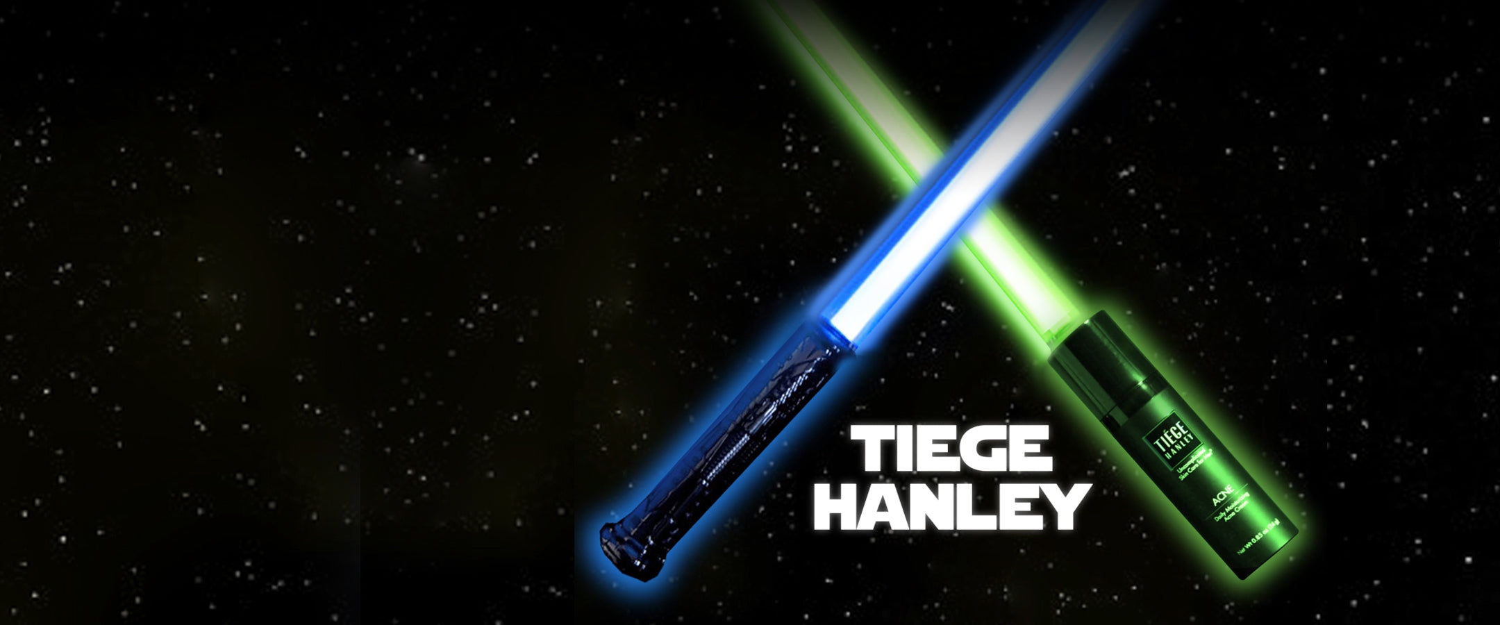 Help me Tiege Hanley, you're my only hope for  great skin!