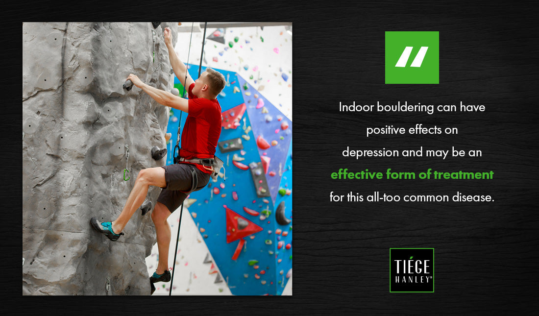indoor rock climbing graphic
