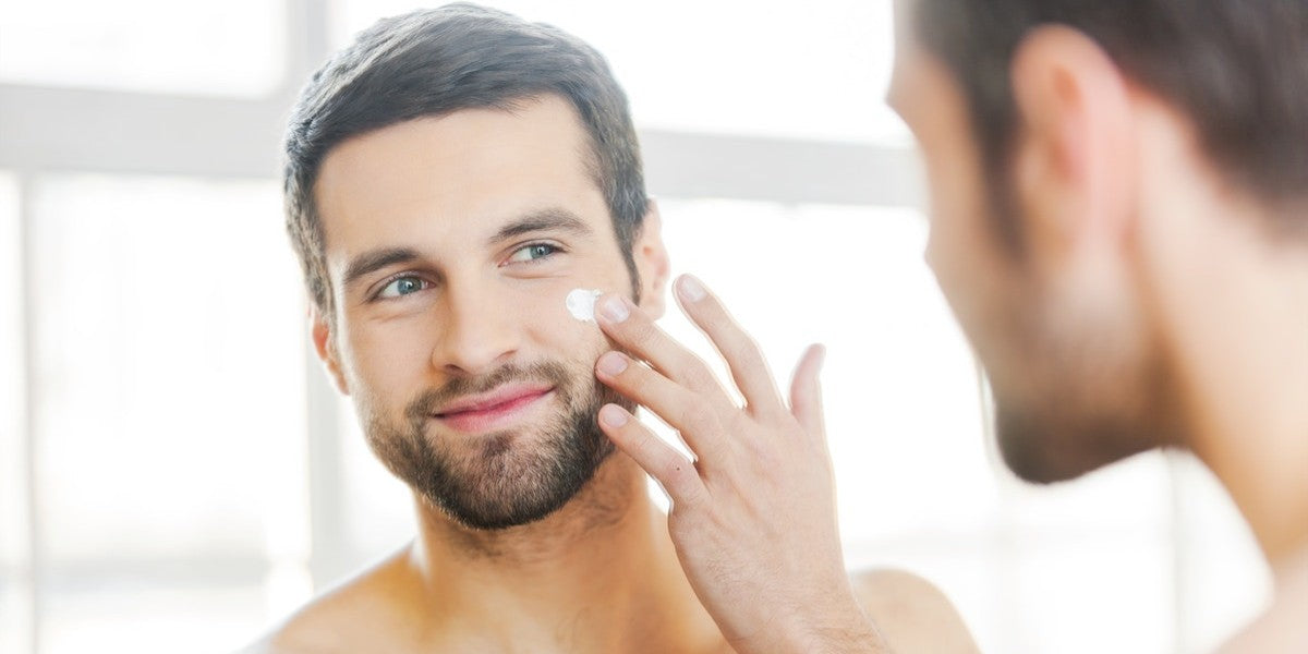 Men's Face Moisturizer with SPF