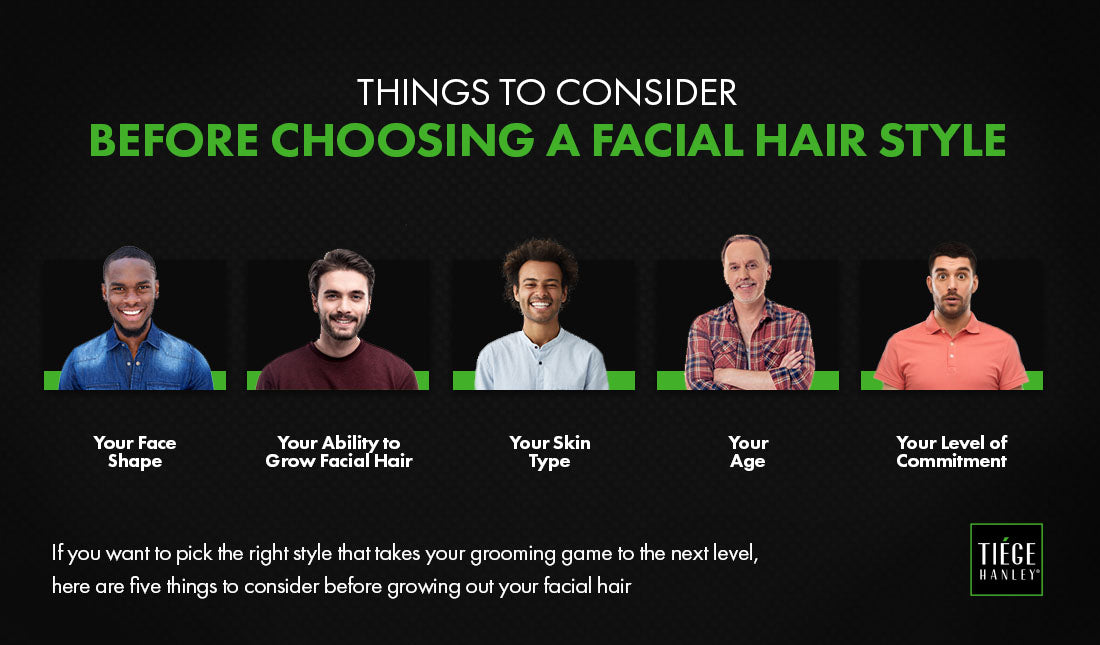 choosing facial hair things to consider graphic