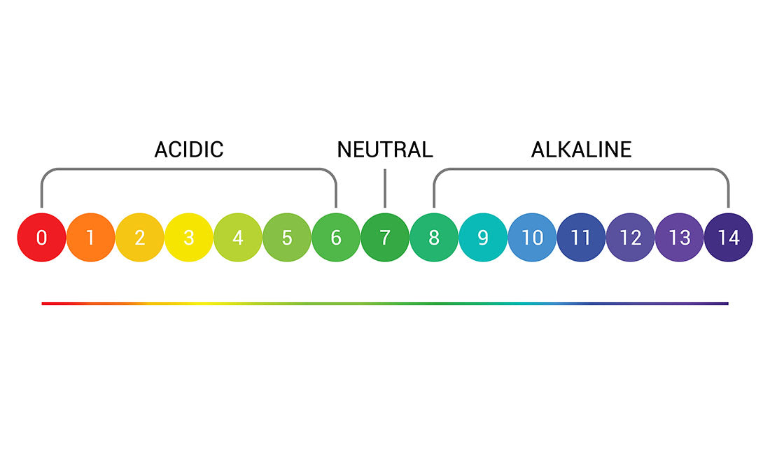 ph scale illustration
