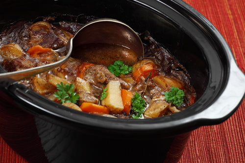 photo of irish stew in slow cooker