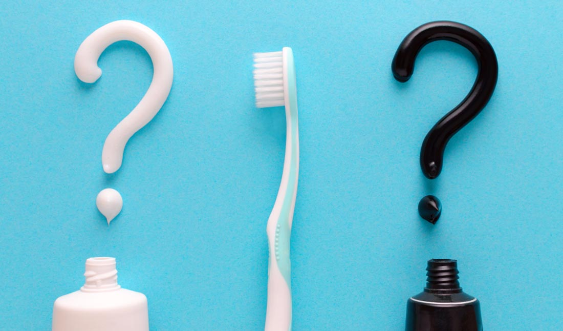 question mark toothpastes