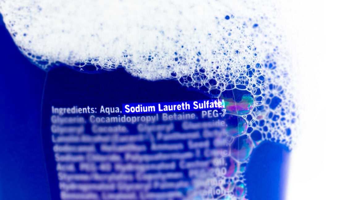 sodium laureth sulfate highlighted