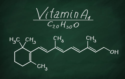 structural model for vitamin a1