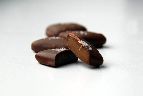 Dark Chocolate Salted Caramels, 12 ct Gift Collection