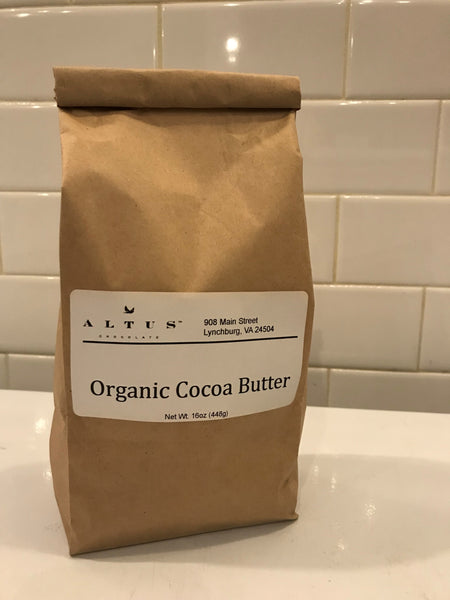 1 Pound Organic Cocoa Butter