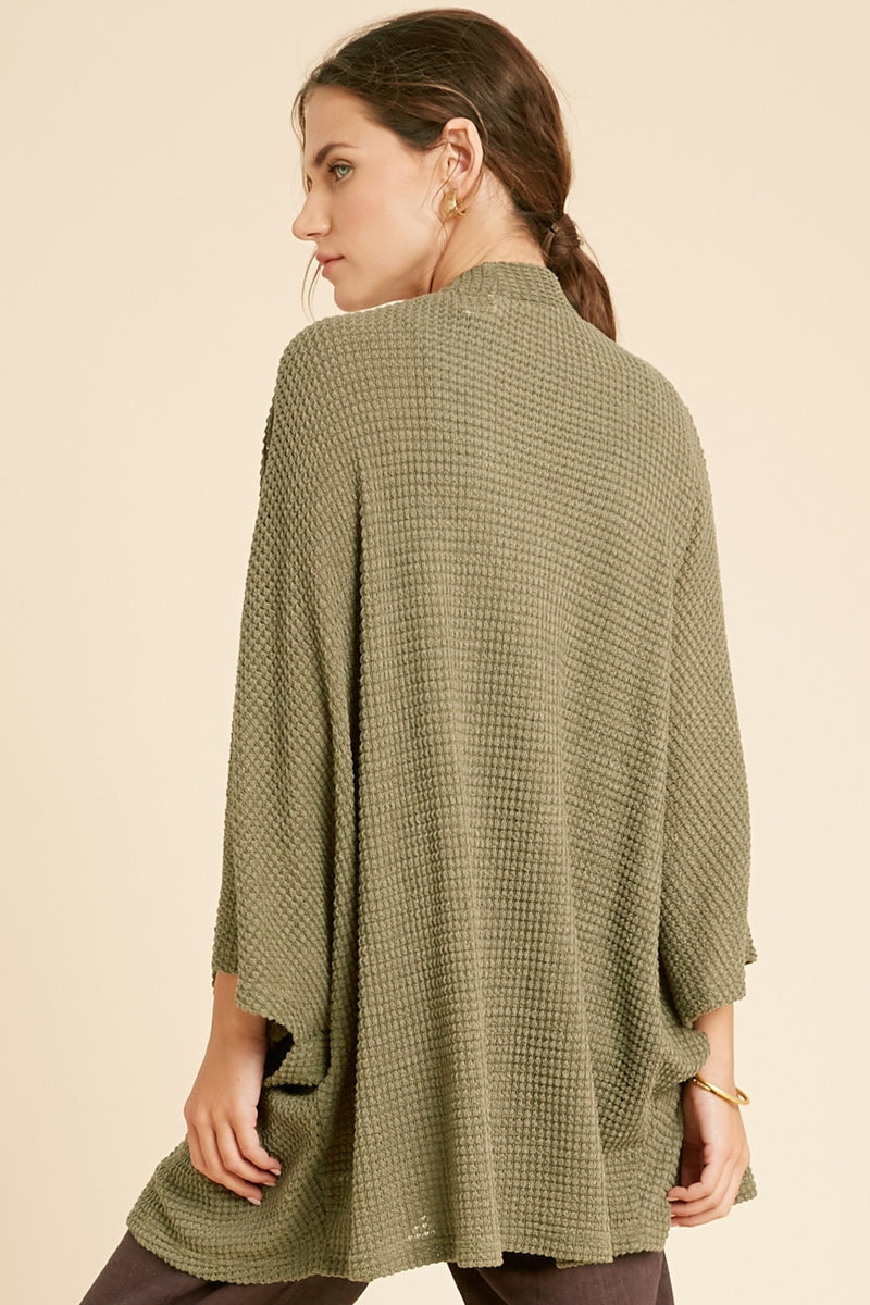 Take Me On The Road Cardi Olive