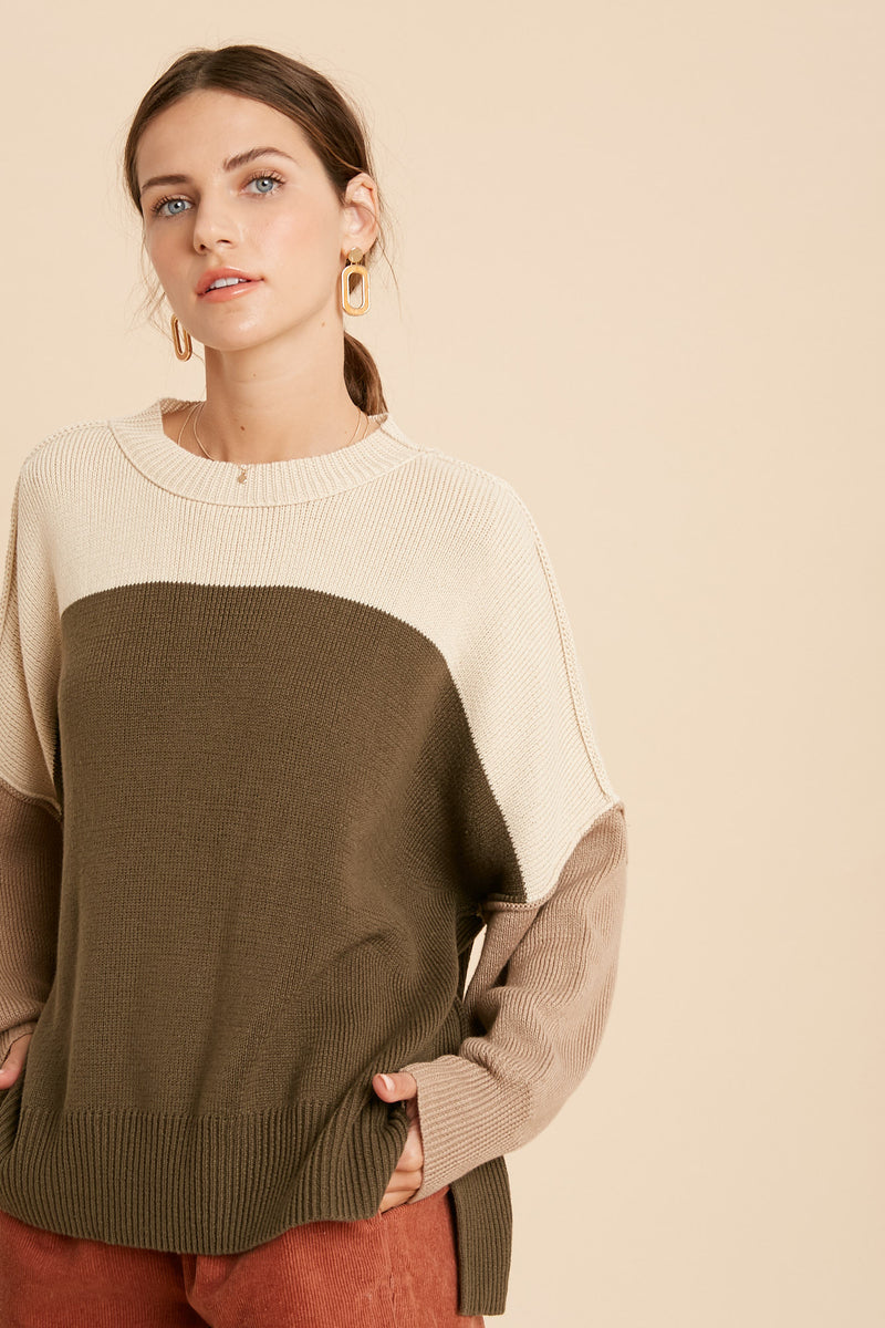 Cloud Nine Sweater Olive