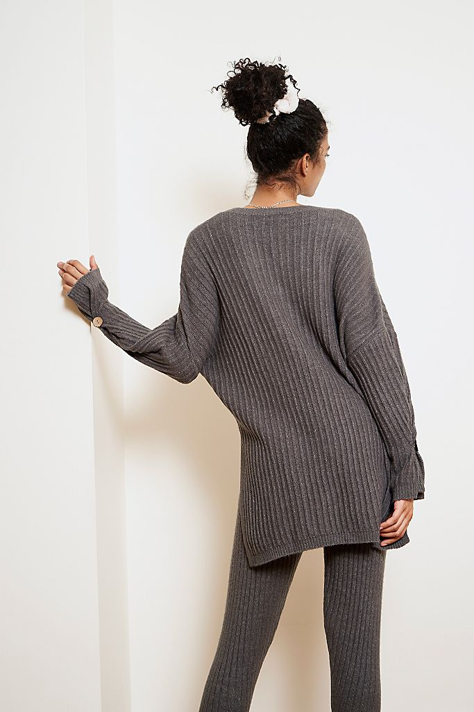 Around The Clock Pullover Charcoal