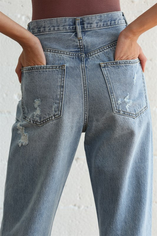 Always Find A Way Jeans Denim