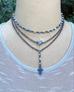 Single Bead Necklace Sesame