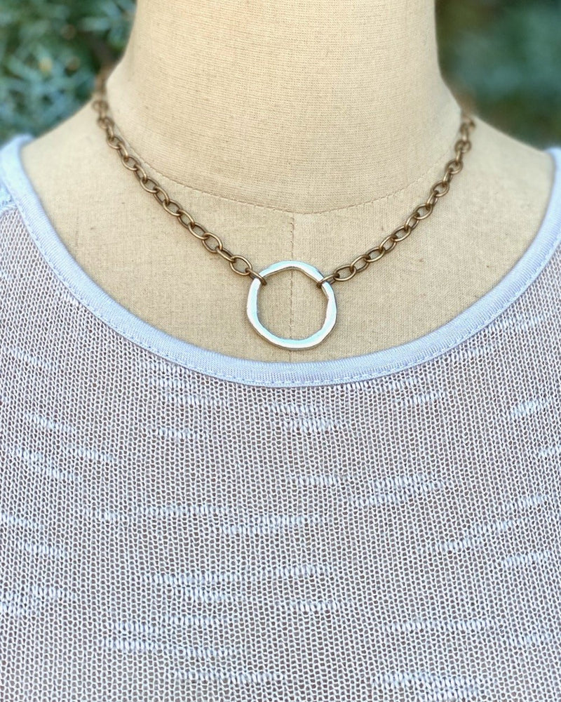Beyond Necklace Silver