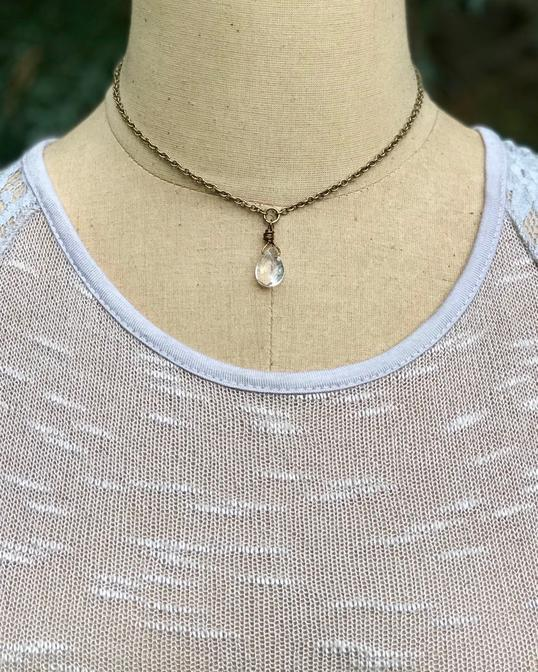 Serenity Quartz Necklace