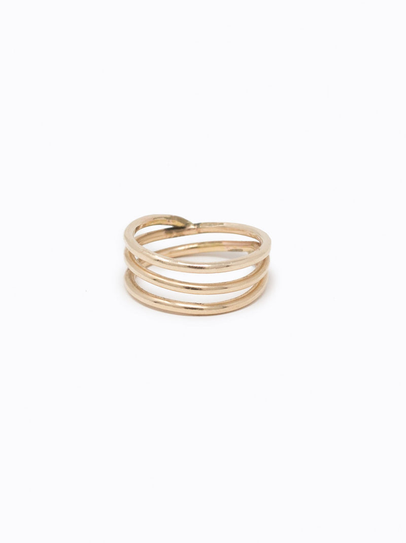 Contour Ring Gold