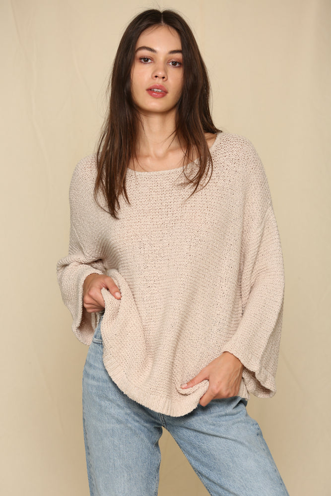 Bake Shop Sweater Clay