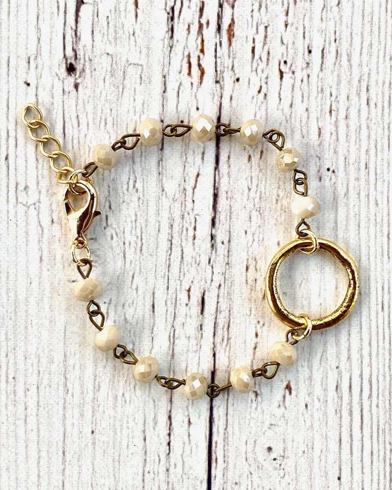 Pearly Gates Bracelet Circle