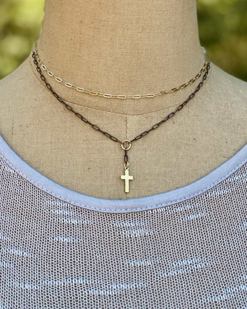Unity Necklace Cross
