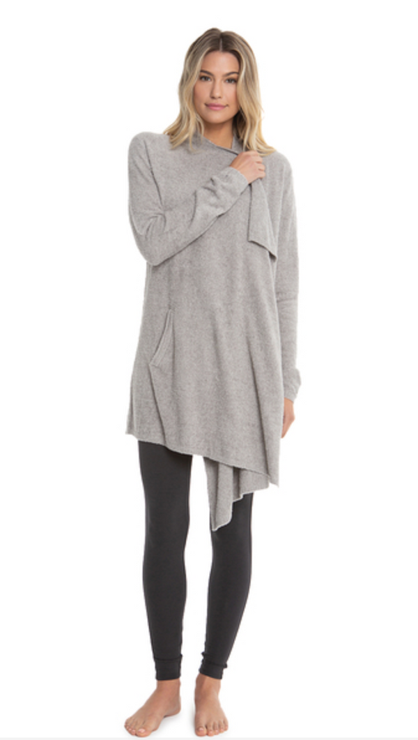 Cozy Chic Lite Island Wrap Pewter/Silver