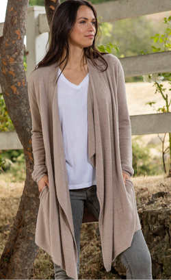 Cozy Chic Lite Island Wrap Taupe