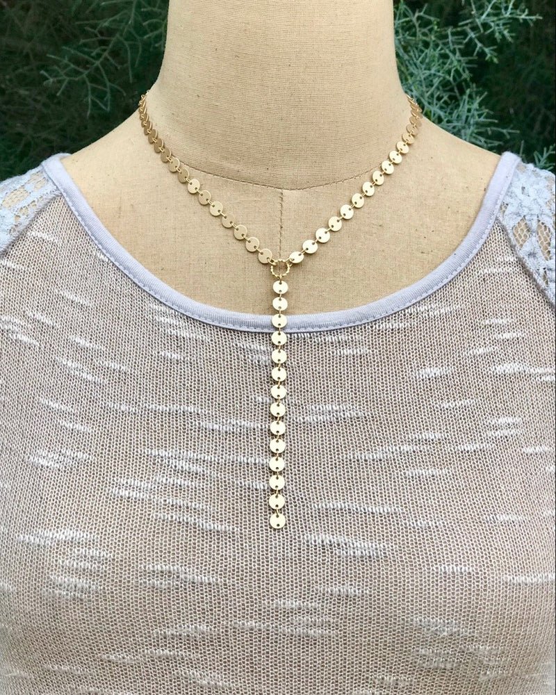 Pathway Necklace Gold
