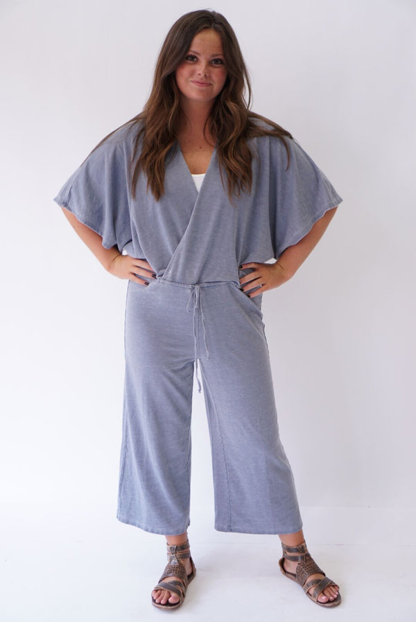 Beachbreaker Jumpsuit Blue