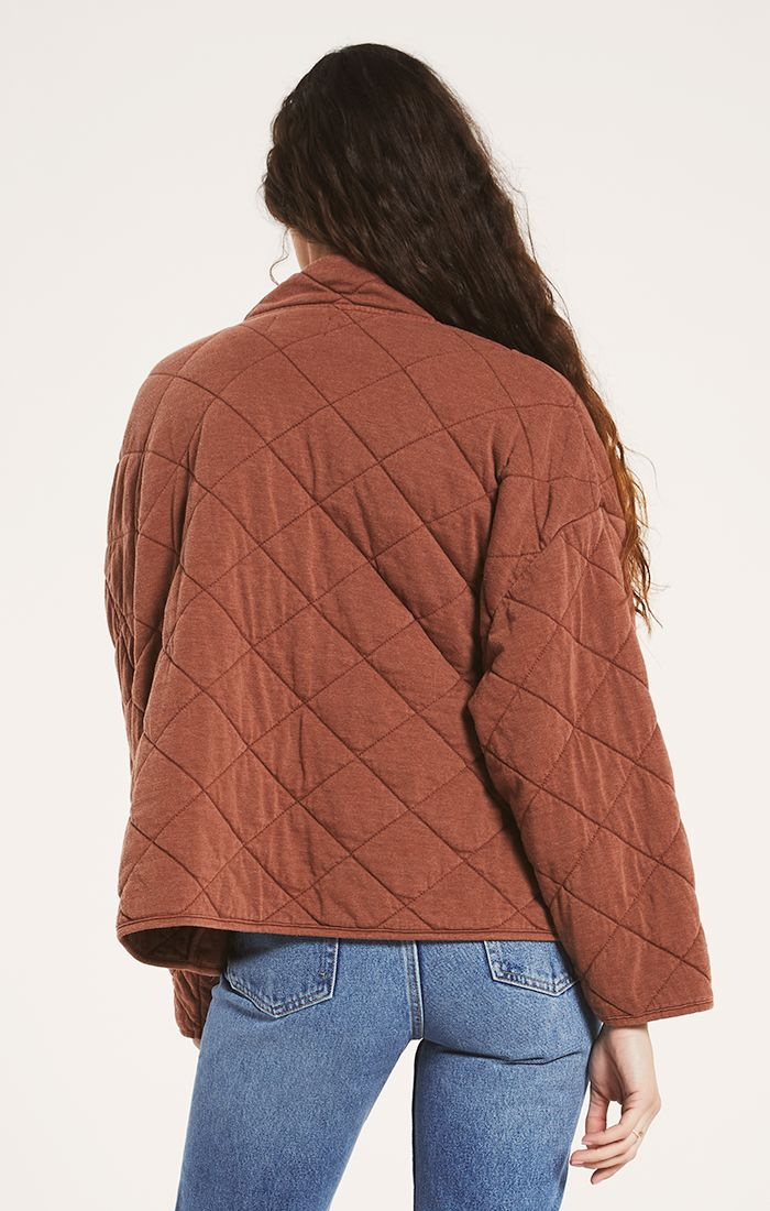 Maya Quilted Jacket Whiskey