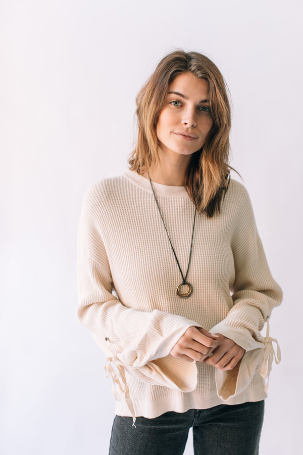 Clean Slate Sweater Bone