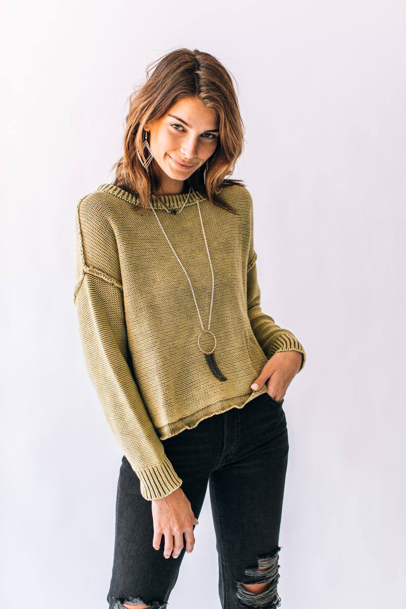 Valley Sweater Green