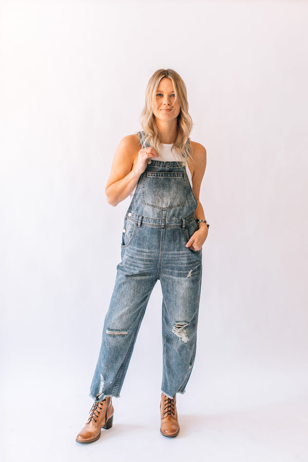 Waco Denim Overall