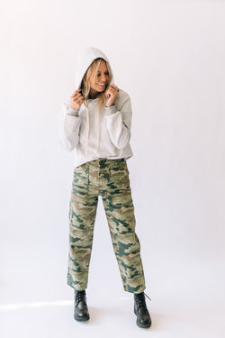 Remy Pant Camo Printed Moss