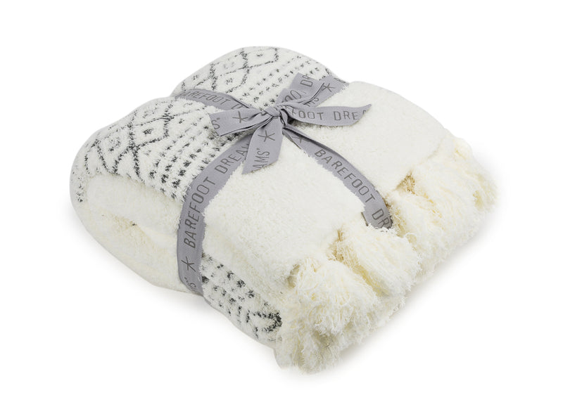 Cozy Chic Luxe Casa Throw Pearl