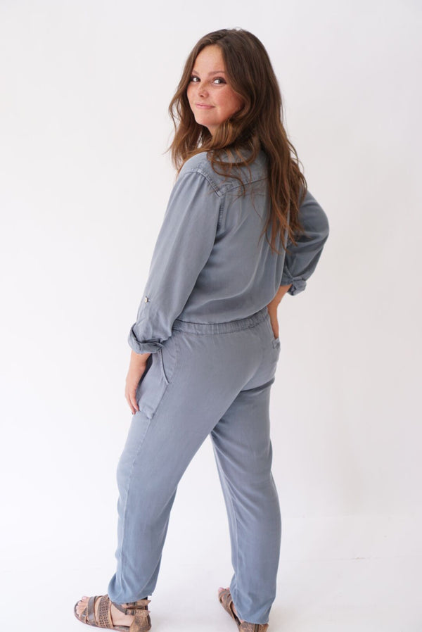 Lewis Jumpsuit Blue