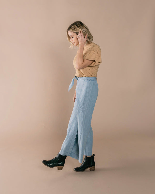 Wide Leg Pant Dusty Blue (3801141411893)
