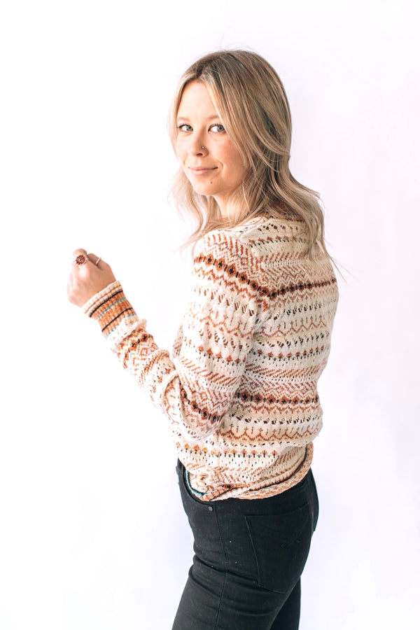 Hillwood Sweater Ivory