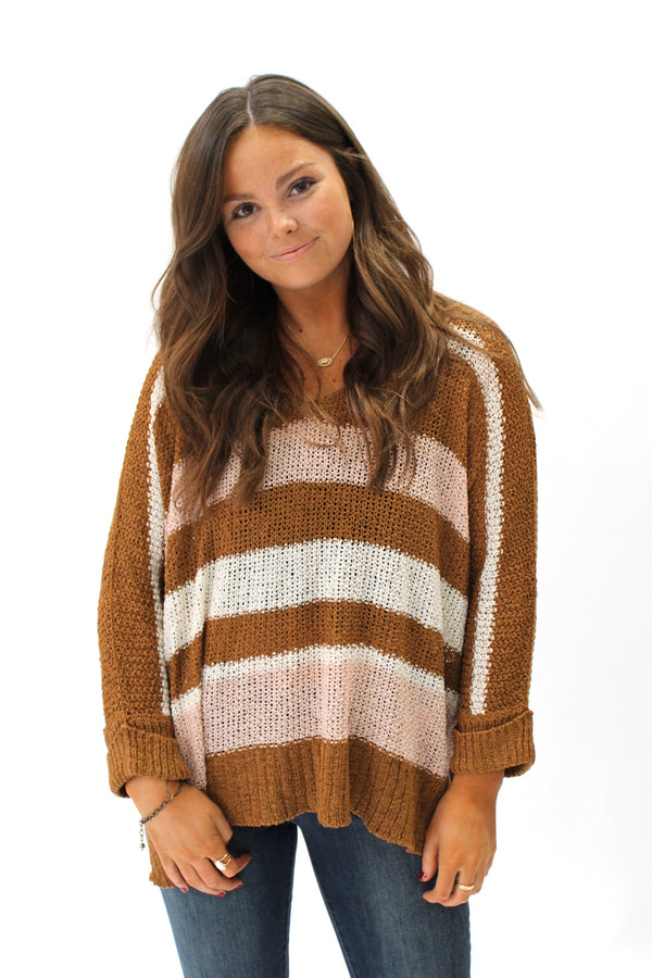 Neapolitan Sweater Brown
