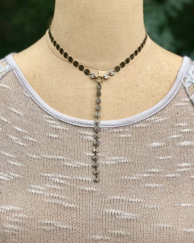 Pathway Necklace Antique (3765031338037)