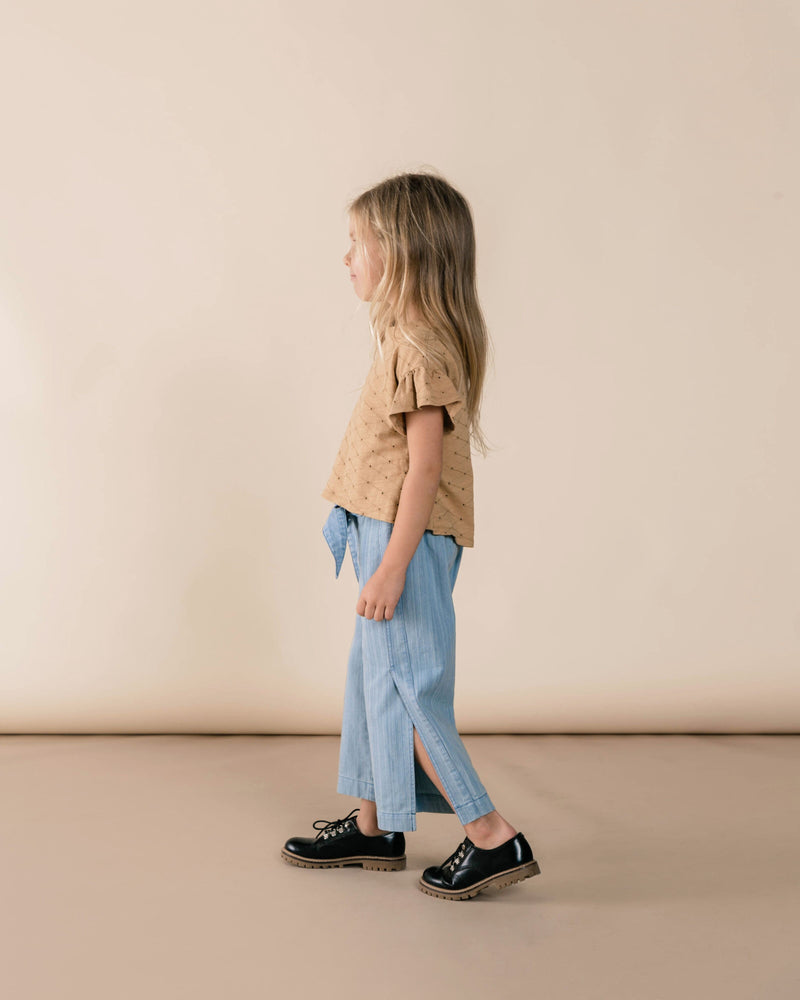 Wide Leg Pant Washed Denim (3801070108725)