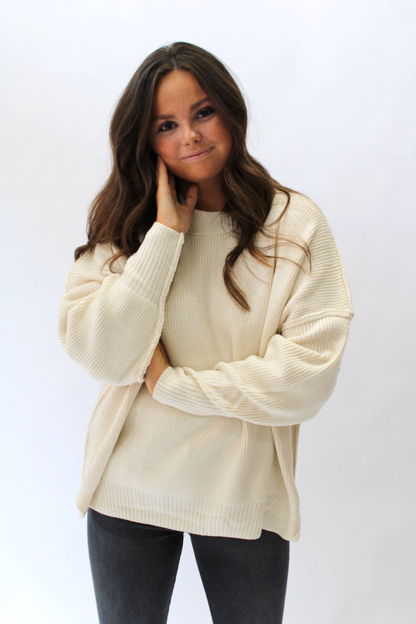 Cozy Up Sweater Ivory