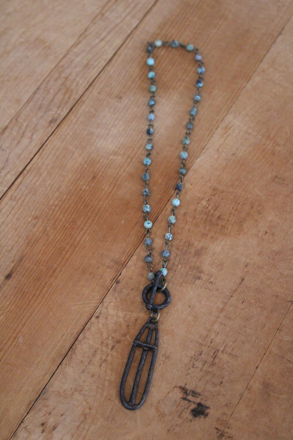Guardian Necklace Turquoise