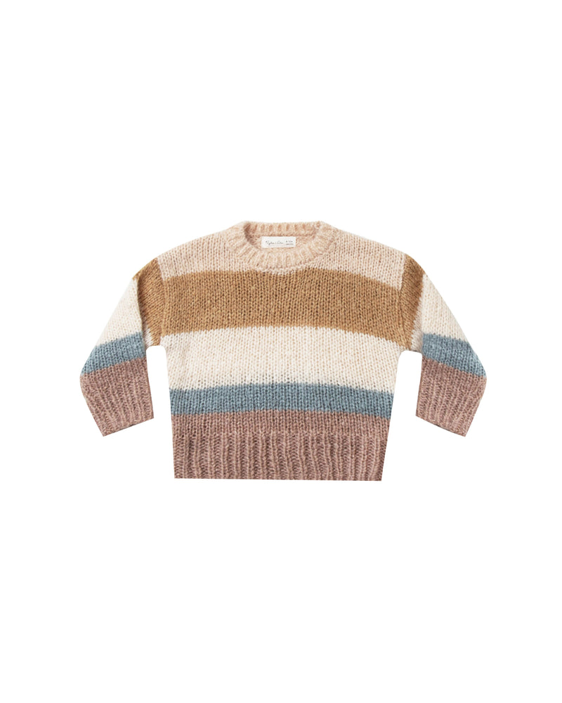 Stripe Aspen Sweater Multi Color (3798413803573)