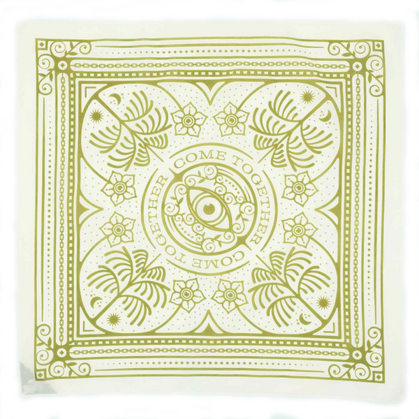 """Come Together"" Bandana"