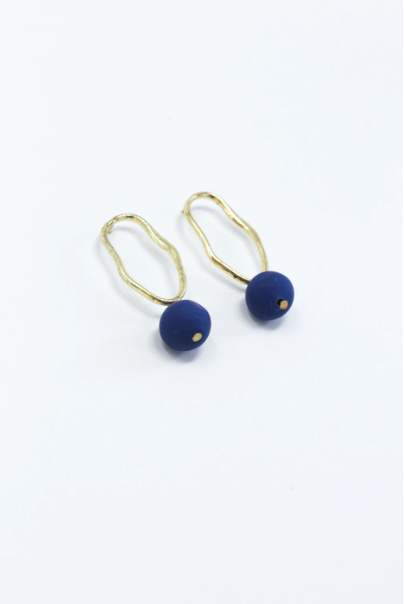 Fluid Form Earrings