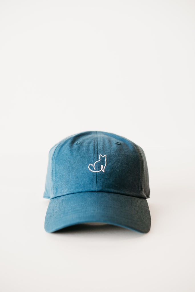 Line Dad Hat - Cat