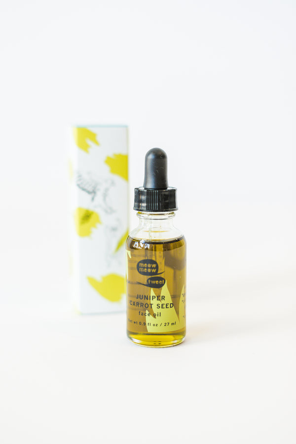 Juniper Carrot Seed Face Oil