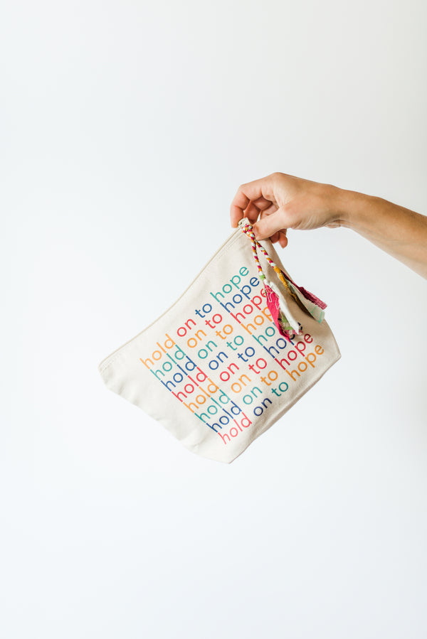 Hold On to Hope | Pouch