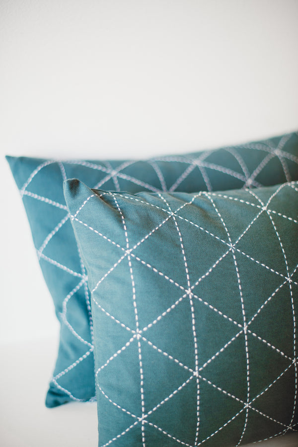 Small Graph Throw Pillow
