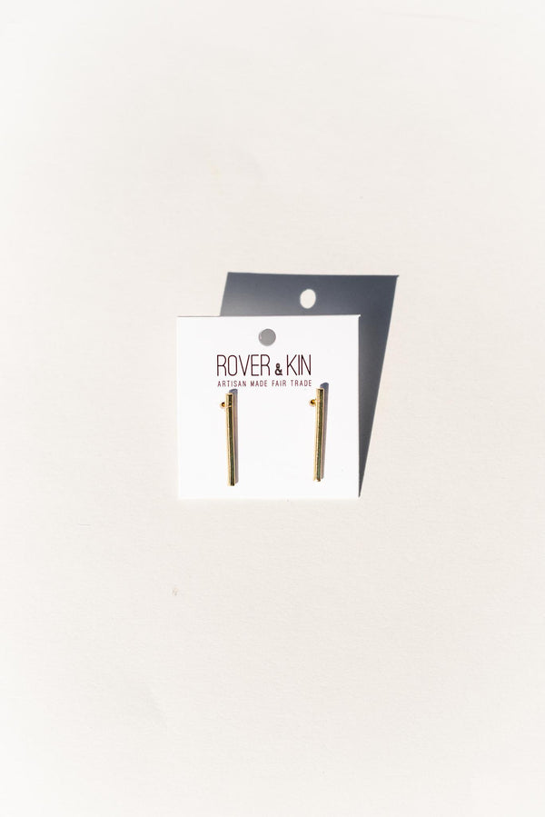 Slim Bar Earring