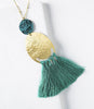 Nihira Tassel Necklace